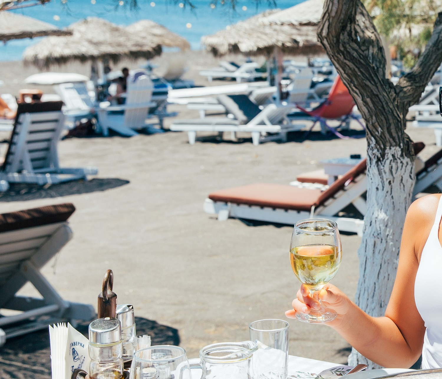 Enjoy our best Food next to the beach in our restaurant