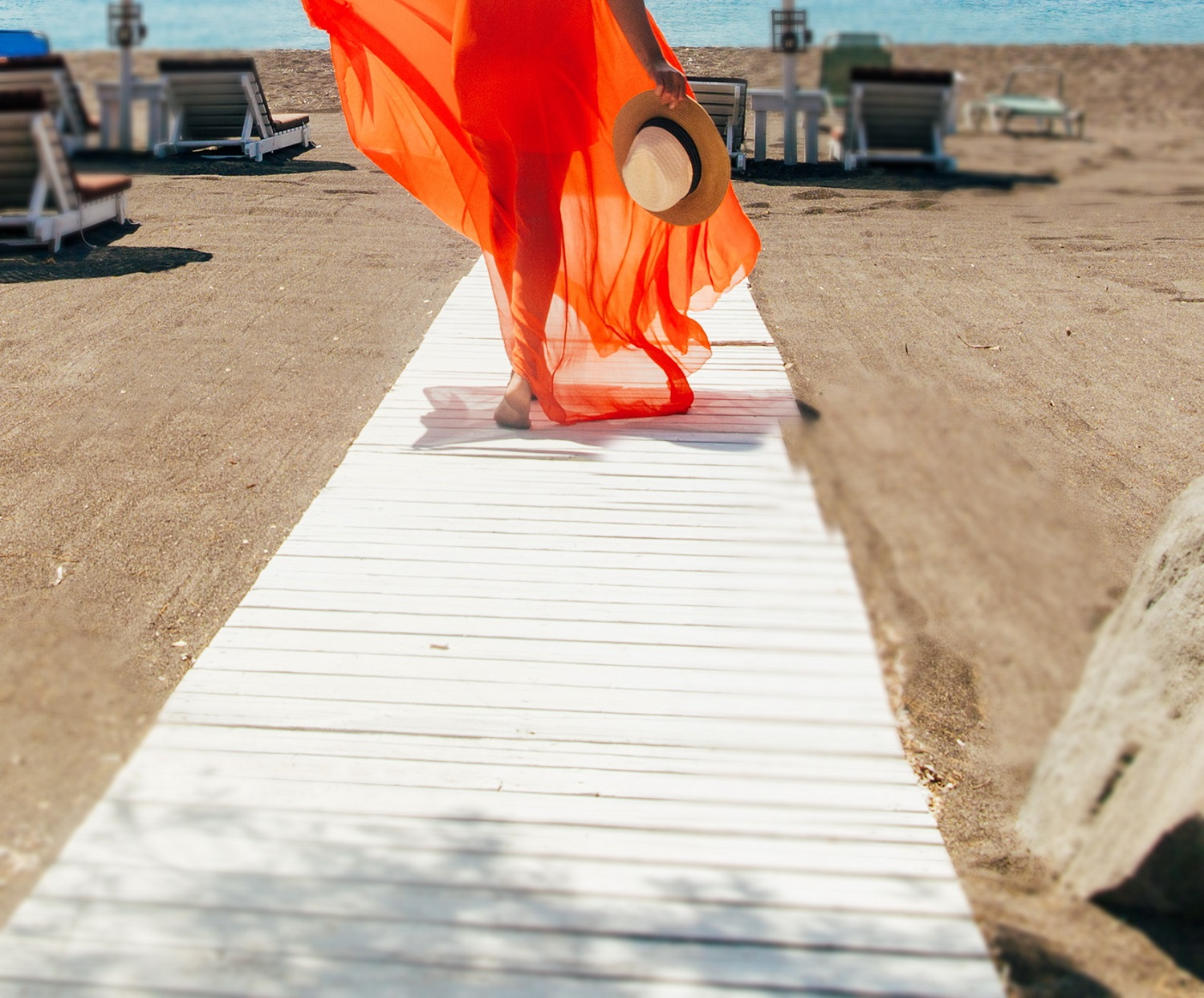 We are waiting for you at the Beach of Perivolos, SANTORINI